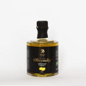 Bilde av flaske med sitronolje fra Gold of Italy.
