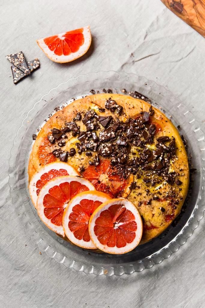 Saftig appelsinkake med olivenolje